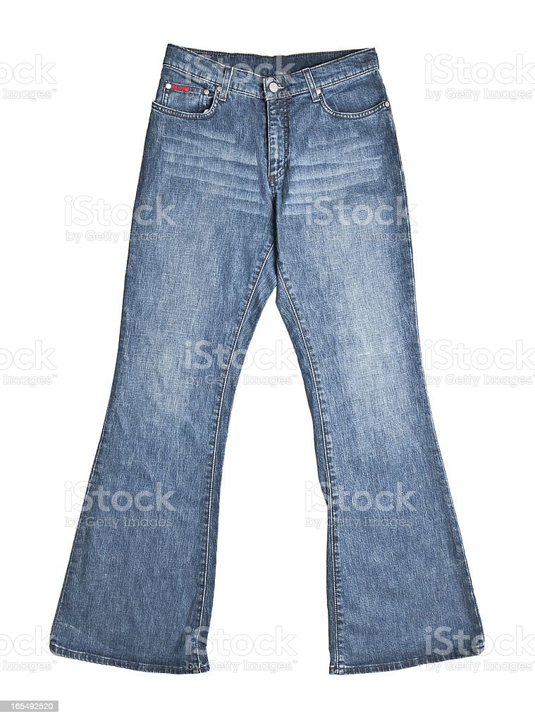 Jeans trousers royalty-free stock photo