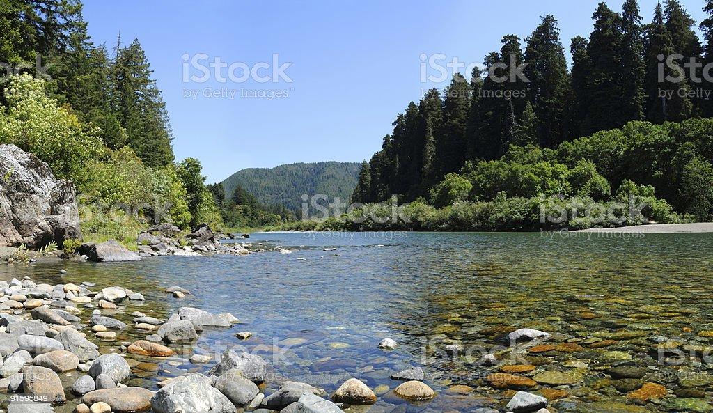 Jed Smith River royalty-free stock photo