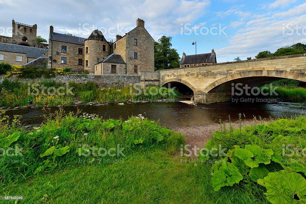 Jedburgh Abbey, Scottish Borders UK stock photo