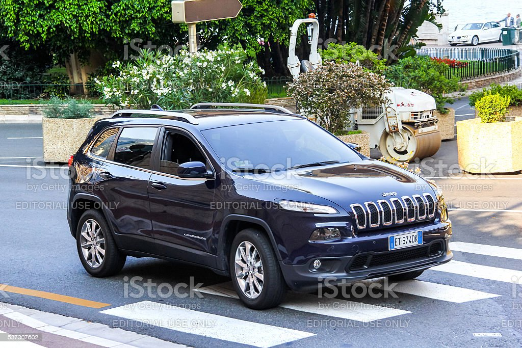 Jeep Cherokee stock photo