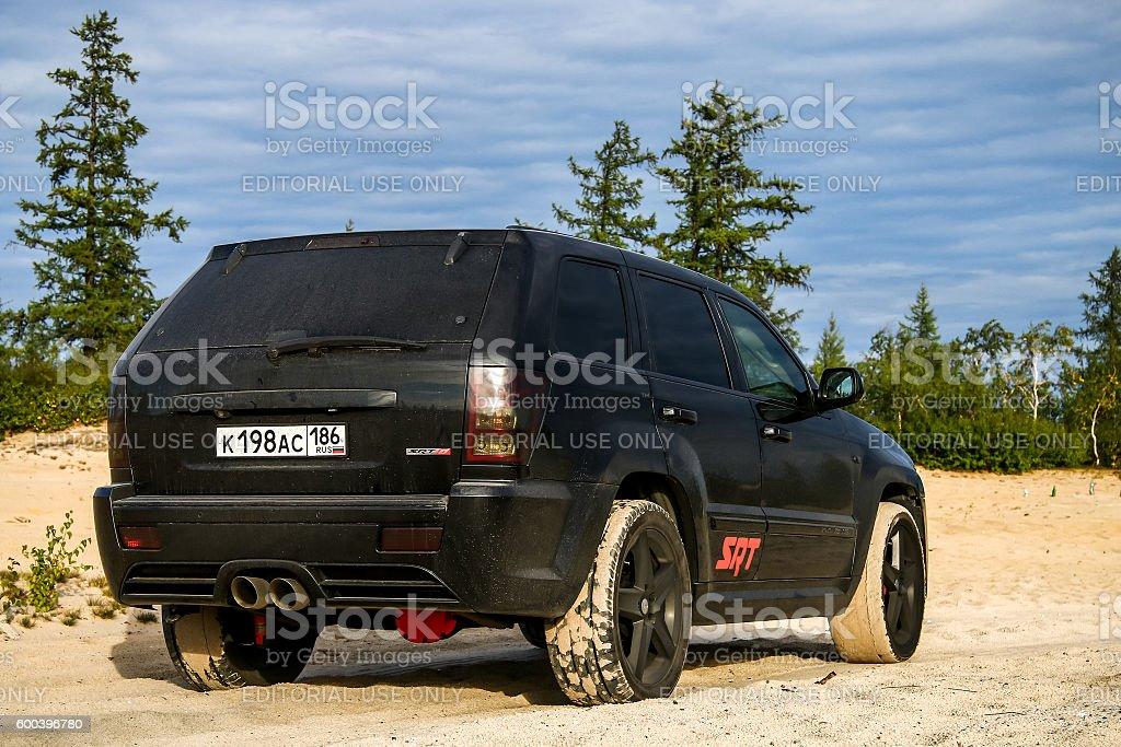 Jeep Cherokee SRT-8 stock photo