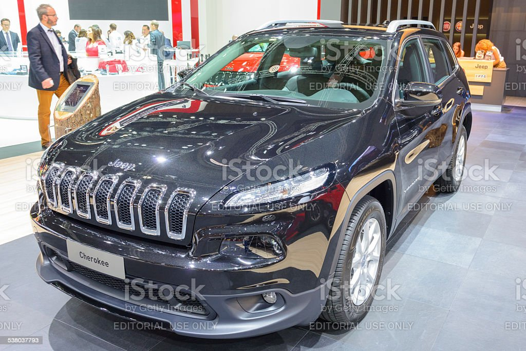 Jeep Cherokee SUV stock photo