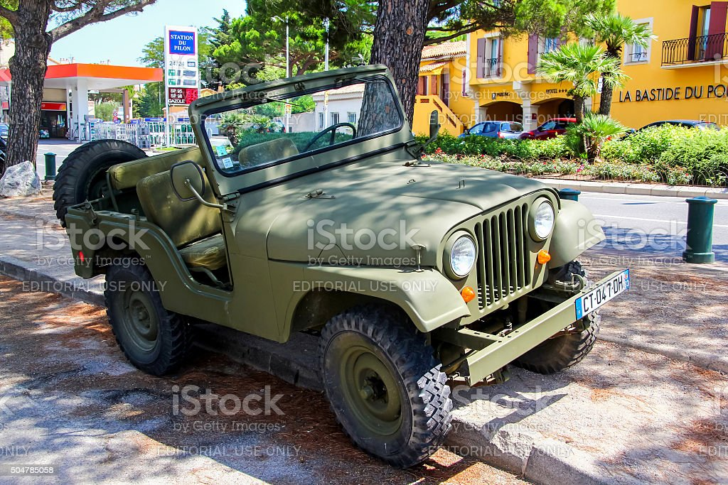 Jeep CJ-5 stock photo