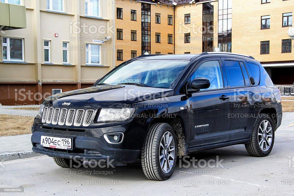 Jeep Compass stock photo