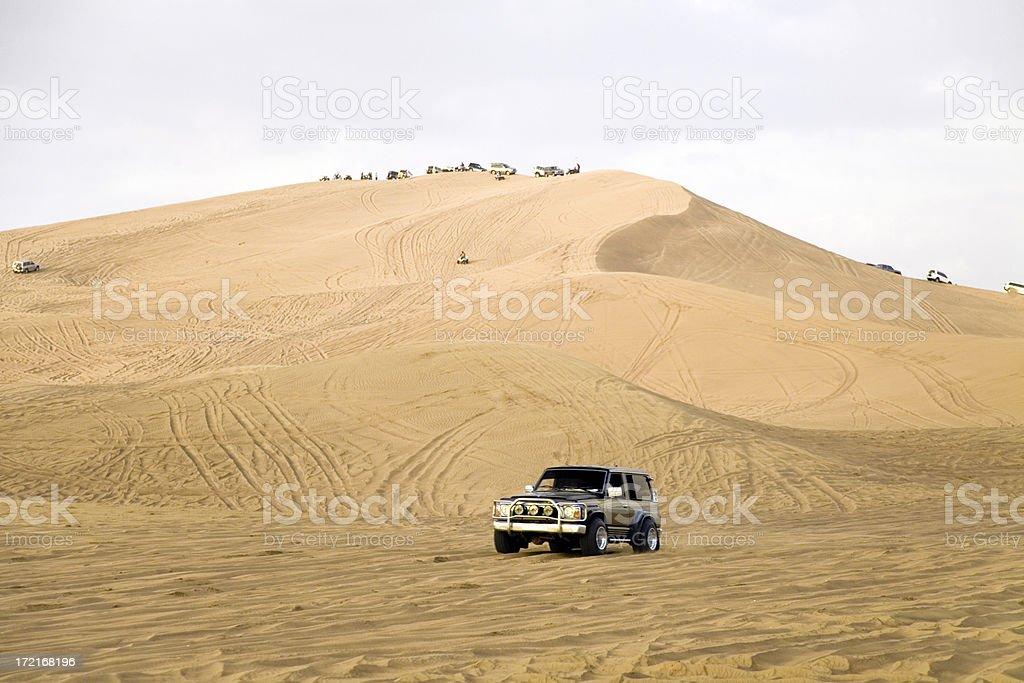 Jeep Desert Safari royalty-free stock photo