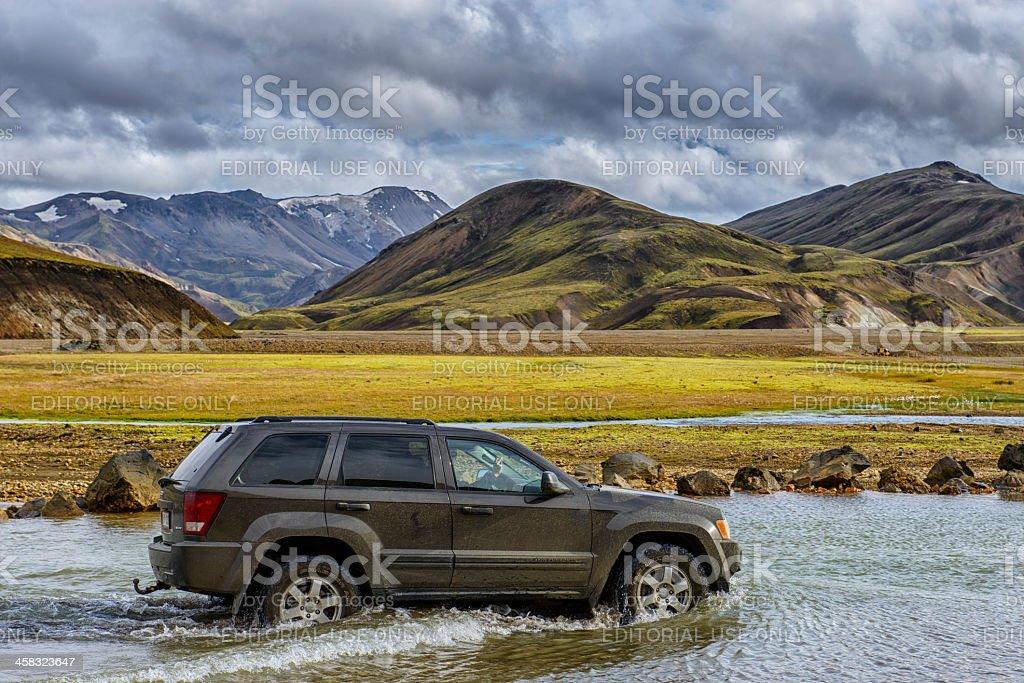 Jeep Grand Cherokee 4x4 royalty-free stock photo