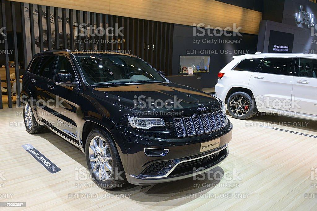 Jeep Grand Cherokee royalty-free stock photo