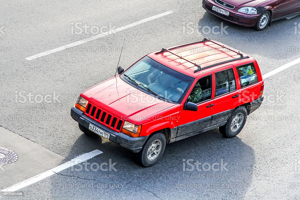 Jeep Grand Cherokee stock photo
