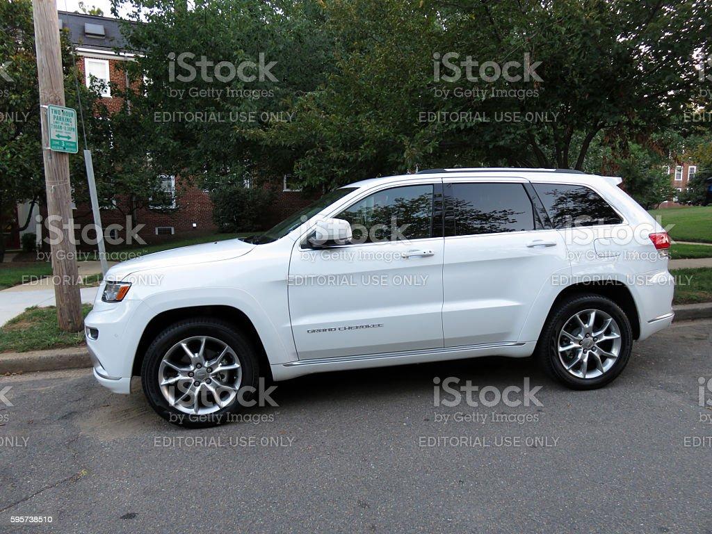 Jeep Grand Cherokee stock photo