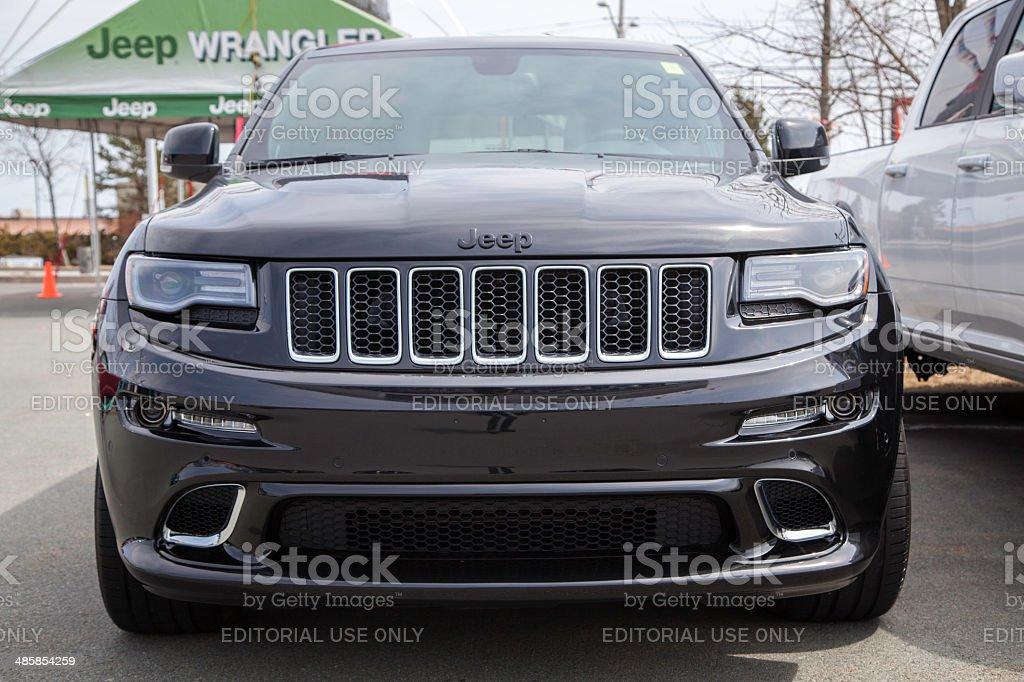 Jeep Grand Cherokee SRT stock photo