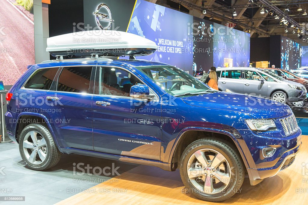 Jeep Grand Cherokee SUV stock photo