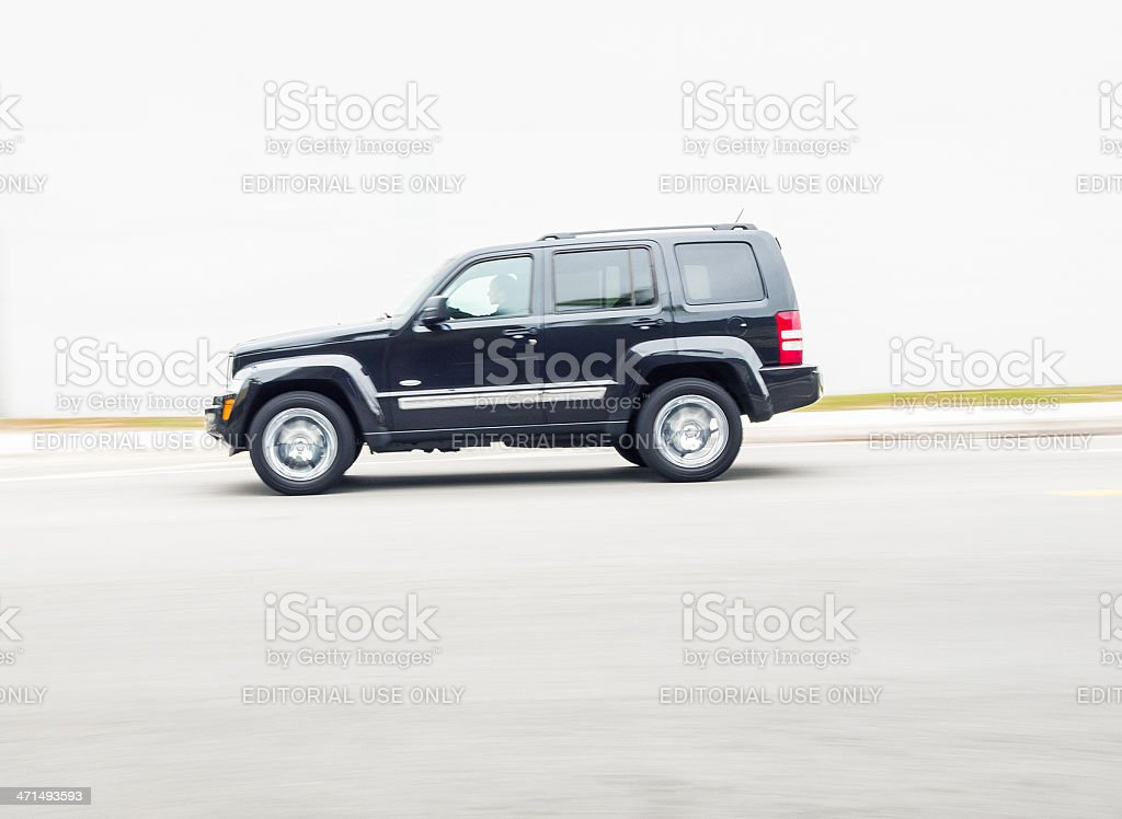 jeep liberty suv 2012 stock photo