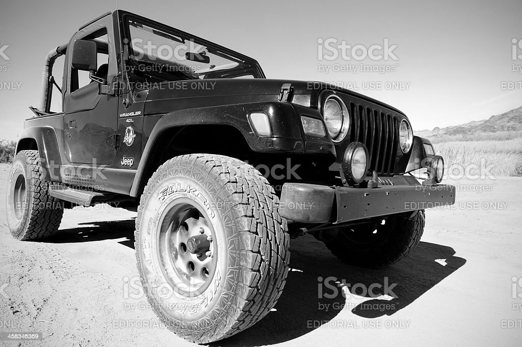 Jeep Offroad stock photo