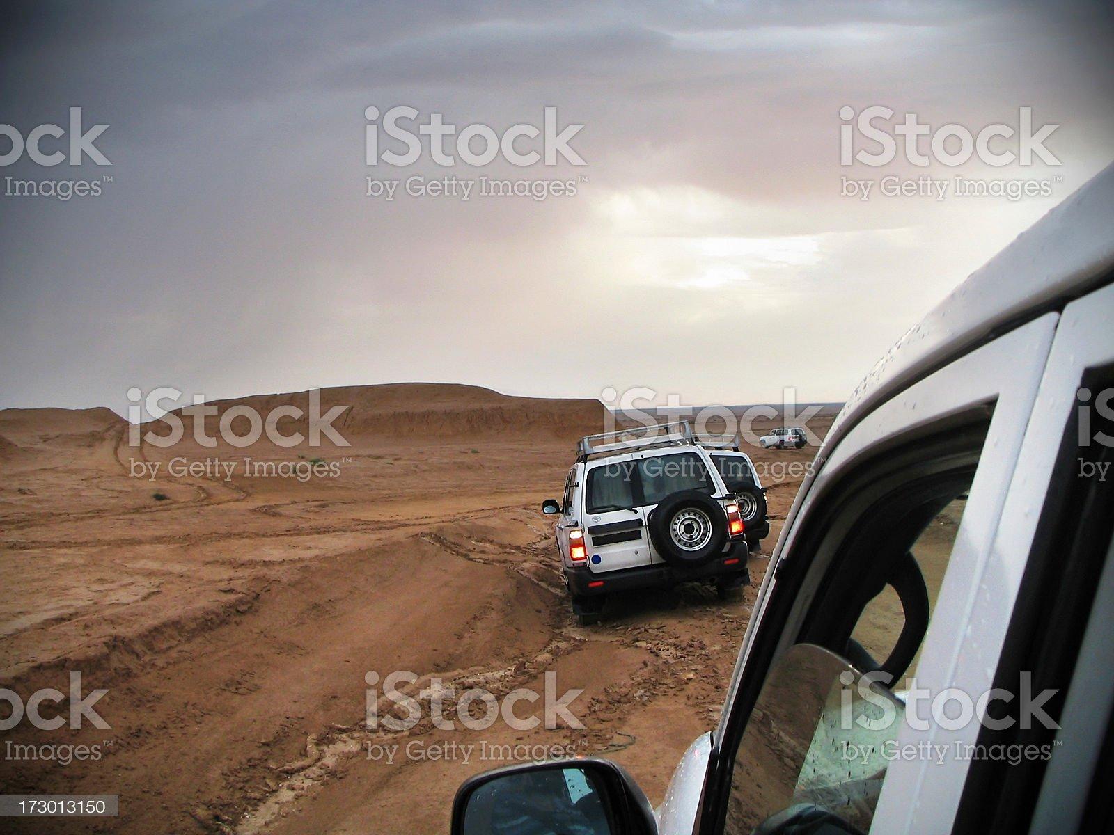 Jeep safari royalty-free stock photo