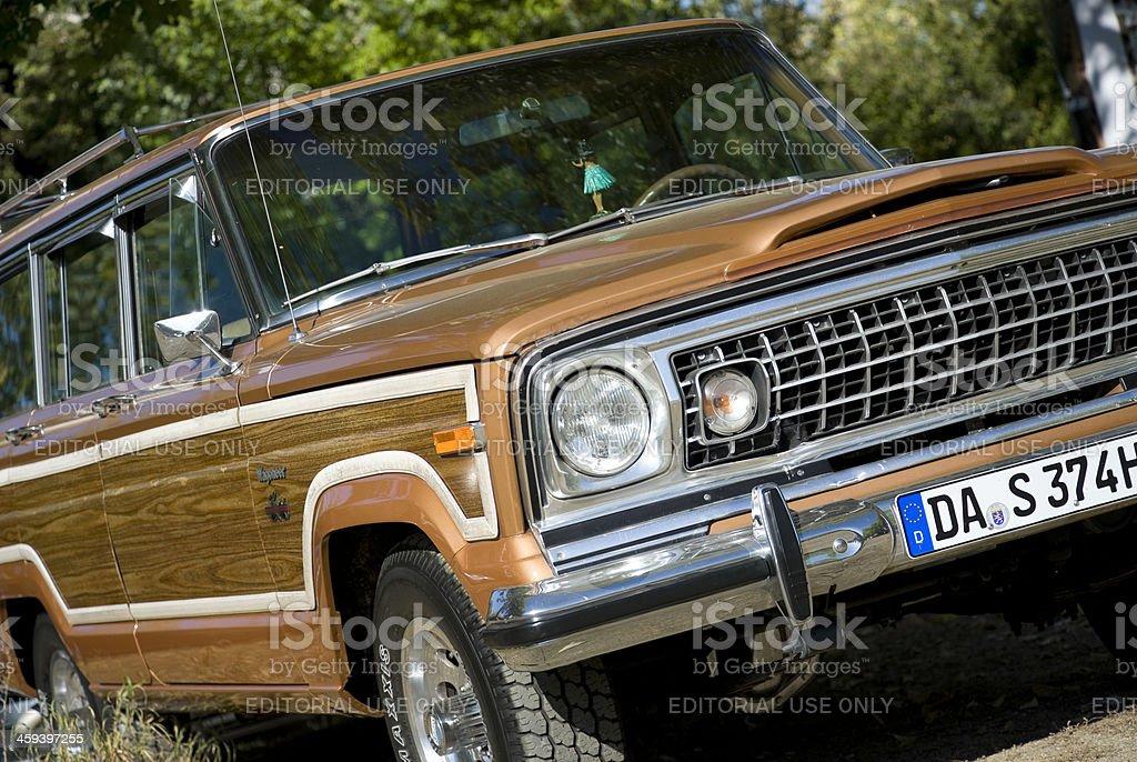 Jeep Wagoneer stock photo