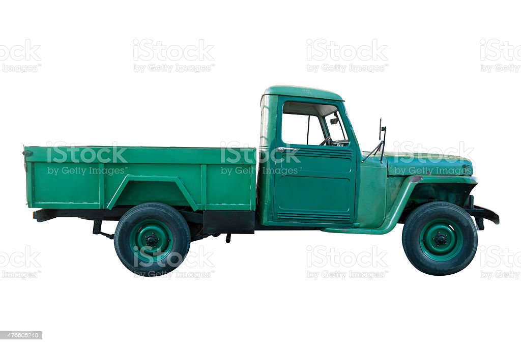 Jeep Willys Pickup stock photo