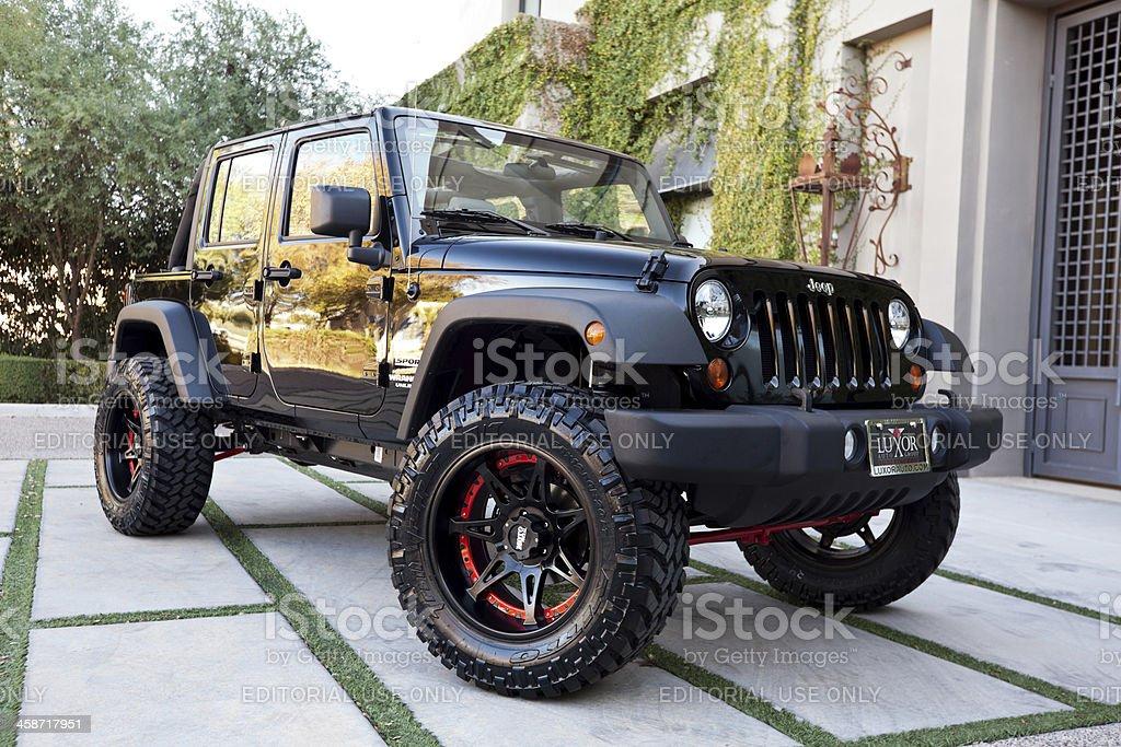 Jeep Wrangler 2010 stock photo