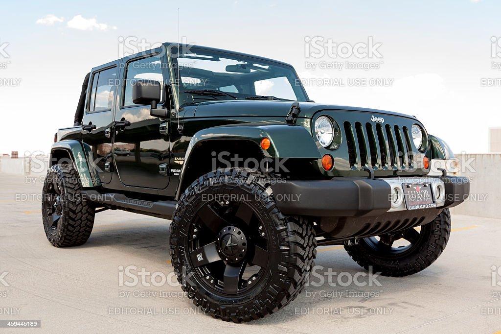 Jeep Wrangler stock photo