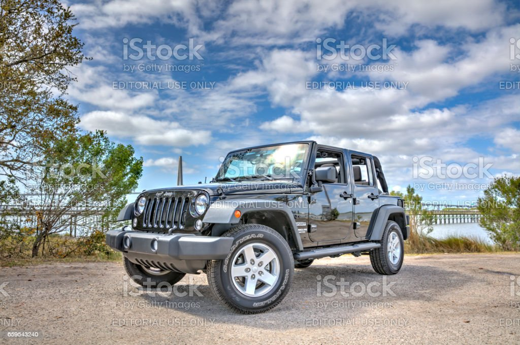 Jeep Wrangler Unlimited 1 stock photo