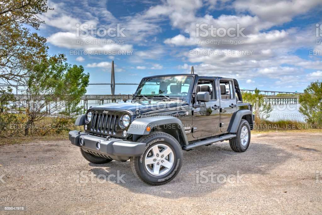 Jeep Wrangler Unlimited 2 stock photo