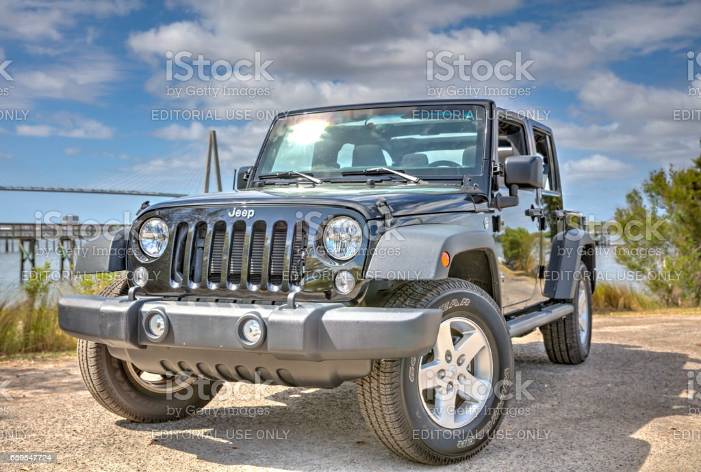 Jeep Wrangler Unlimited 3 stock photo