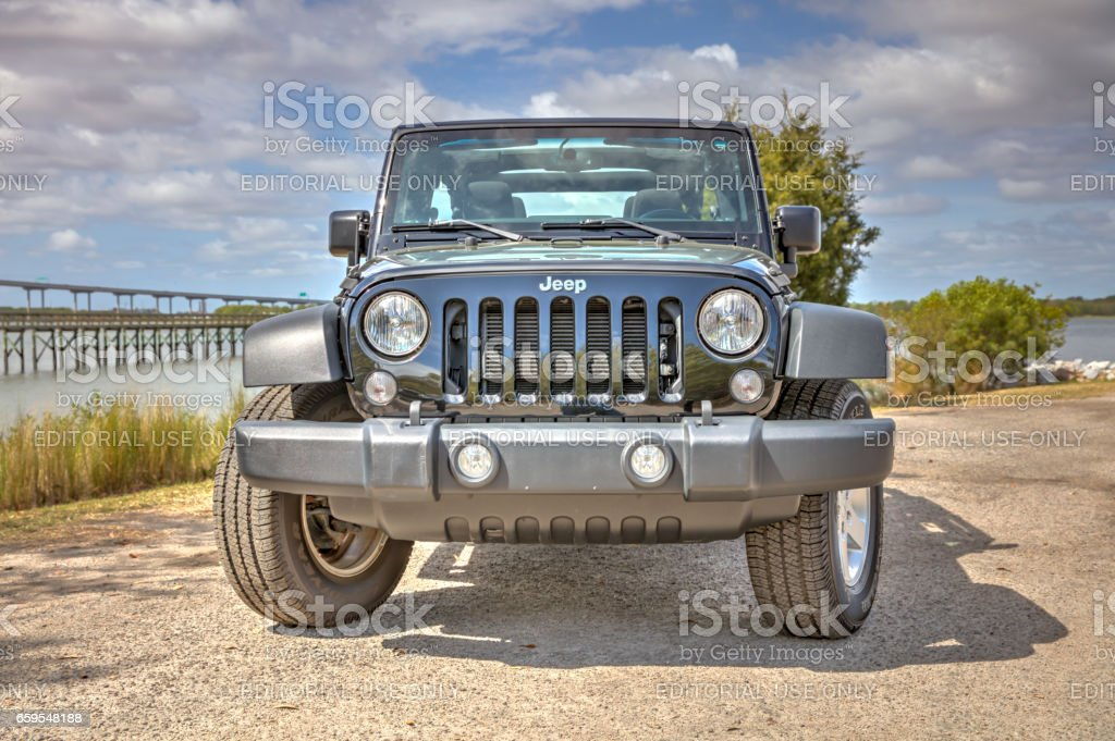 Jeep Wrangler Unlimited 4 stock photo