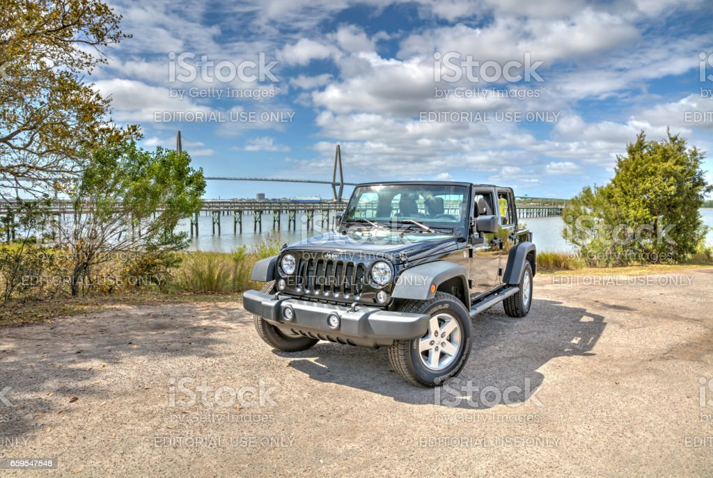 Jeep Wrangler Unlimited 5 stock photo