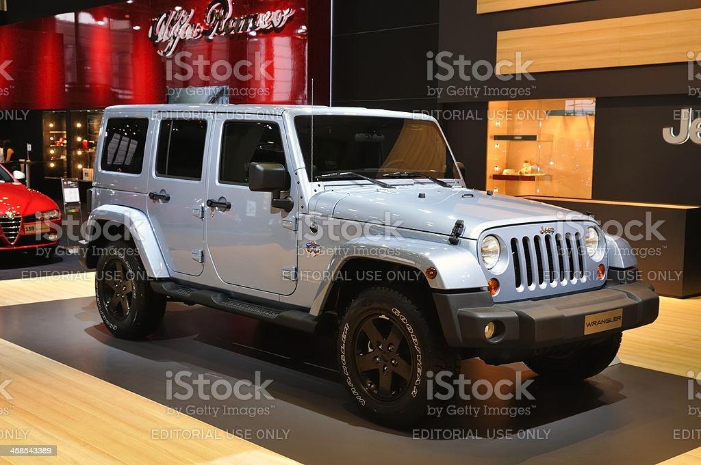 Jeep Wrangler Unlimited stock photo