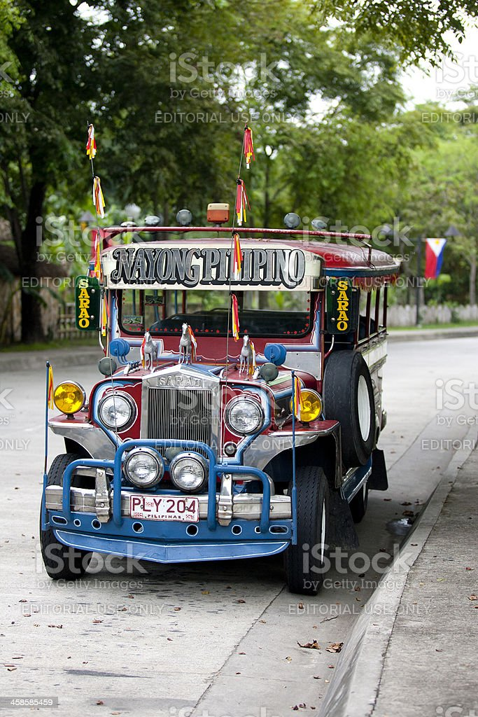 Jeepney Nayong Pilipino royalty-free stock photo