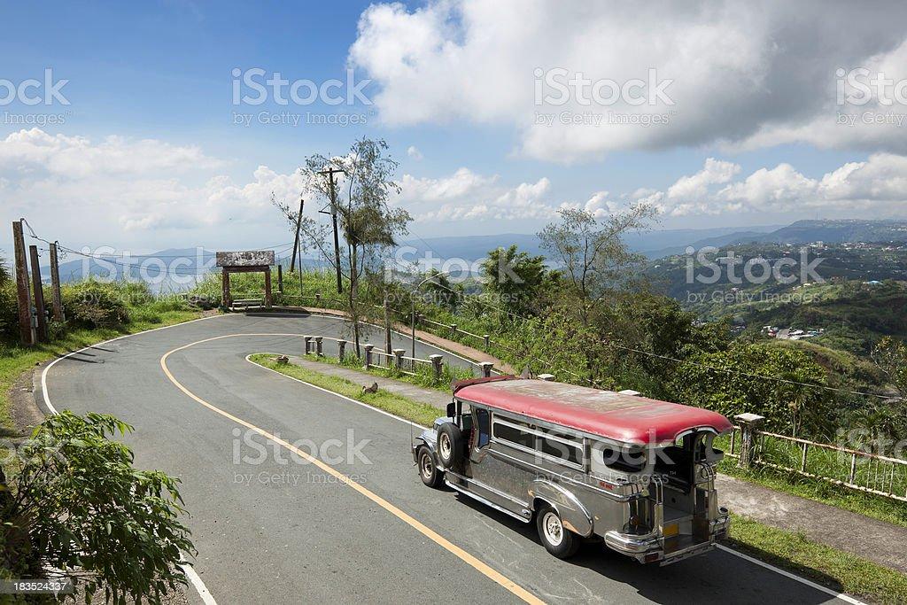 Jeepney ride royalty-free stock photo