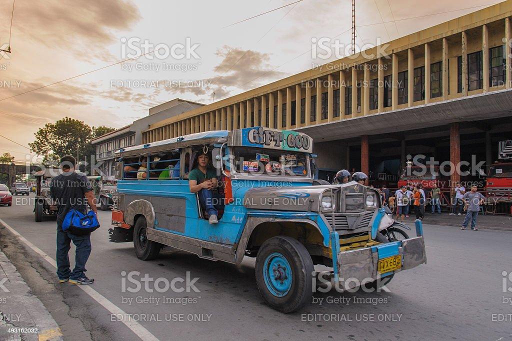 Jeepneys stock photo