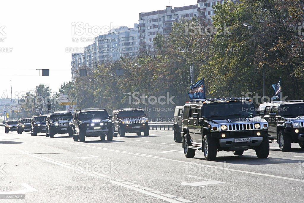 Jeeps royalty-free stock photo