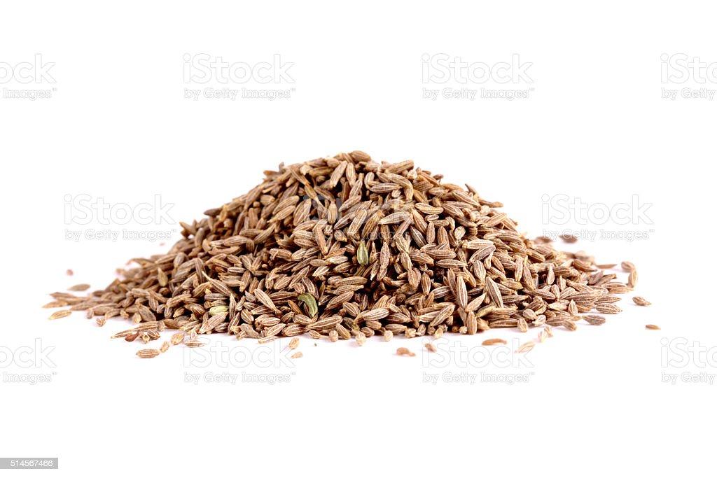 Jeera (Cumin Seeds) stock photo