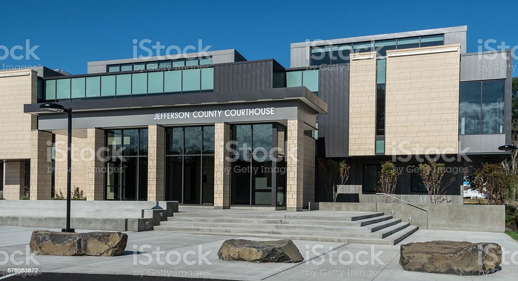 Jefferson County Courthouse stock photo