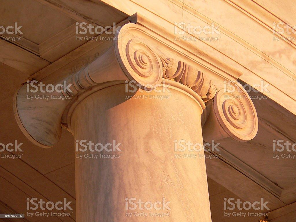 Jefferson Memorial Column royalty-free stock photo
