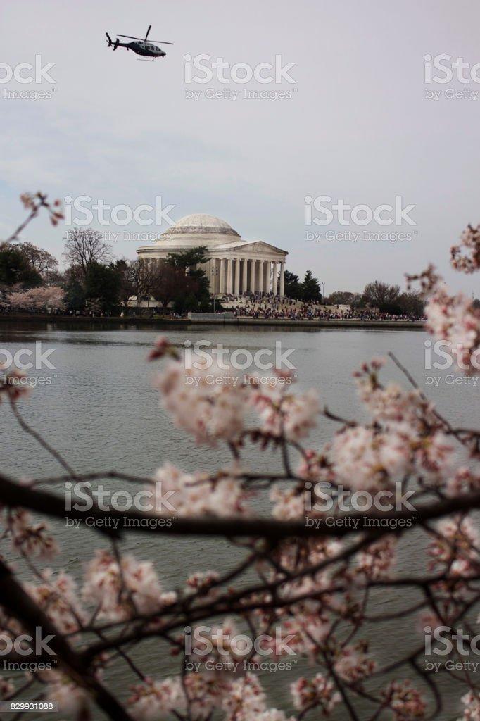 Jefferson Memorial DC stock photo