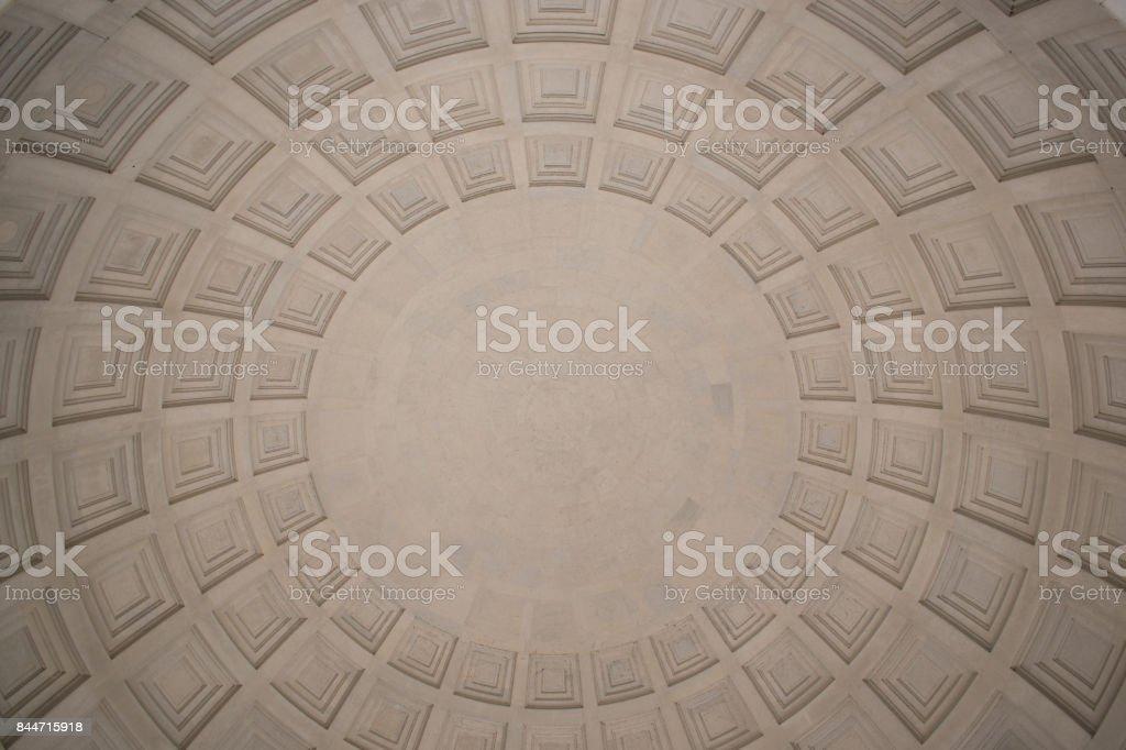 Jefferson Memorial Dome stock photo