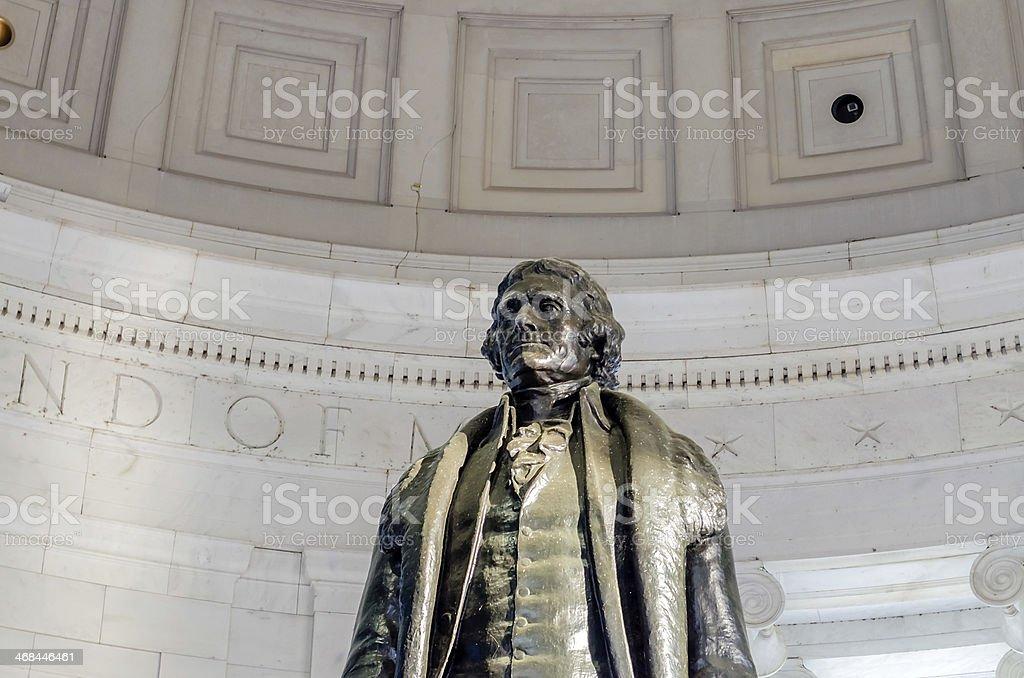 Jefferson Memorial in Washington DC stock photo