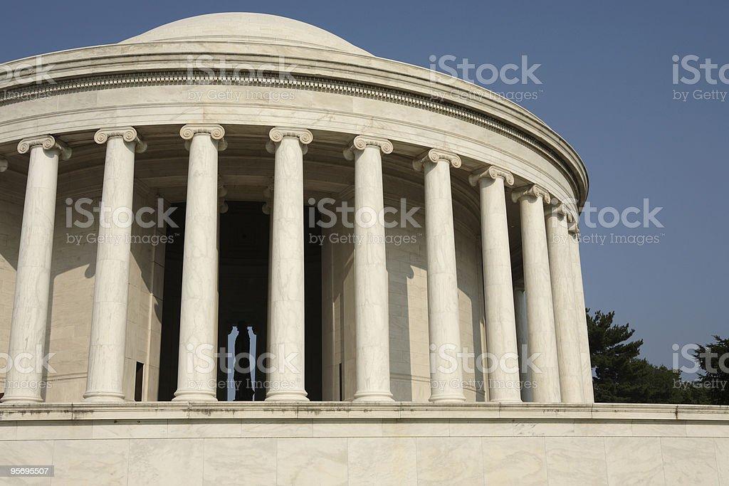 Jefferson Memorial royalty-free stock photo