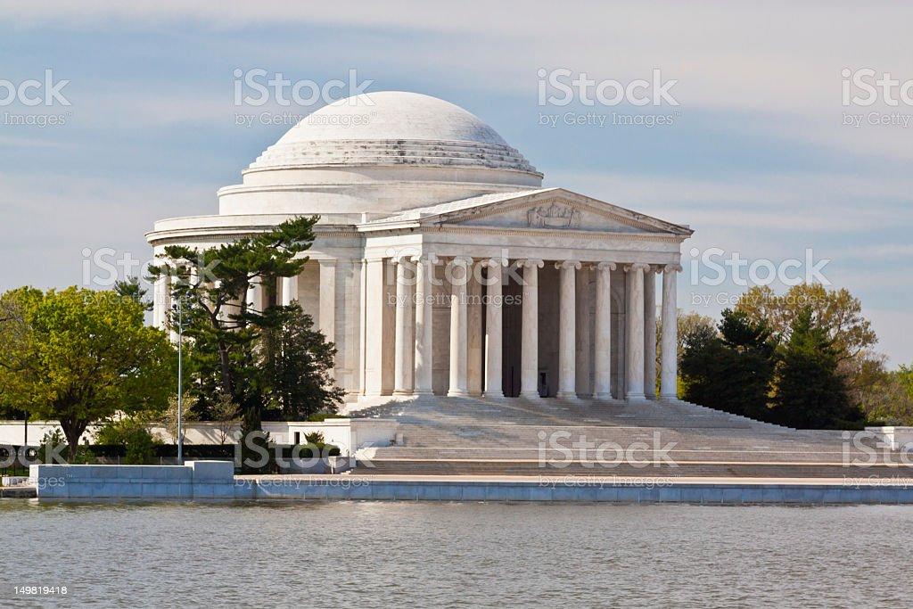 Jefferson Monument royalty-free stock photo