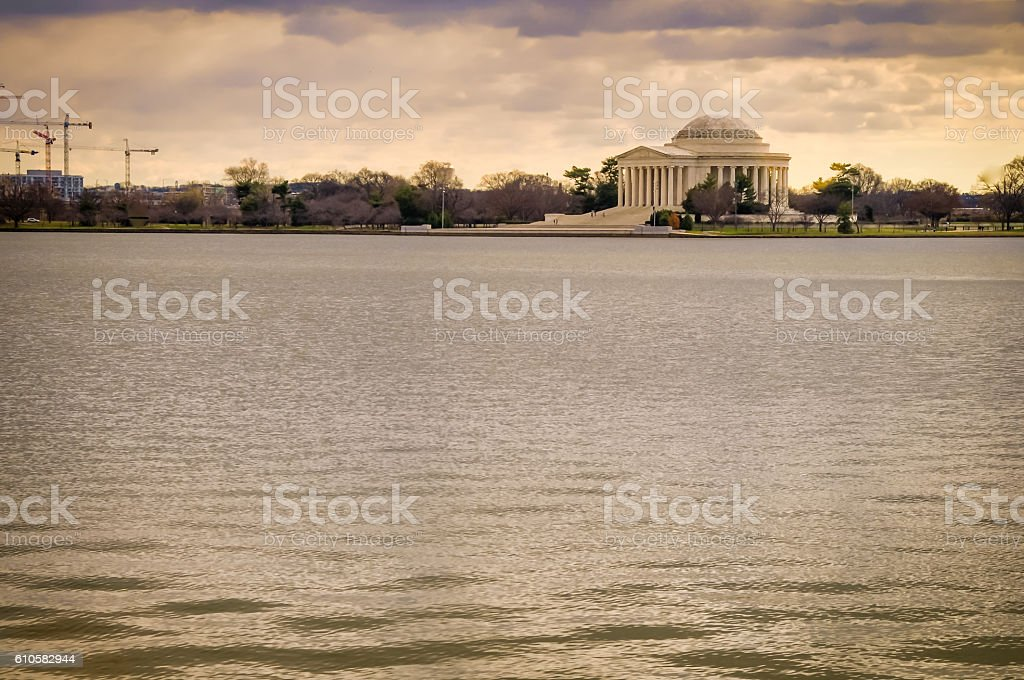 Jefferson Monument stock photo