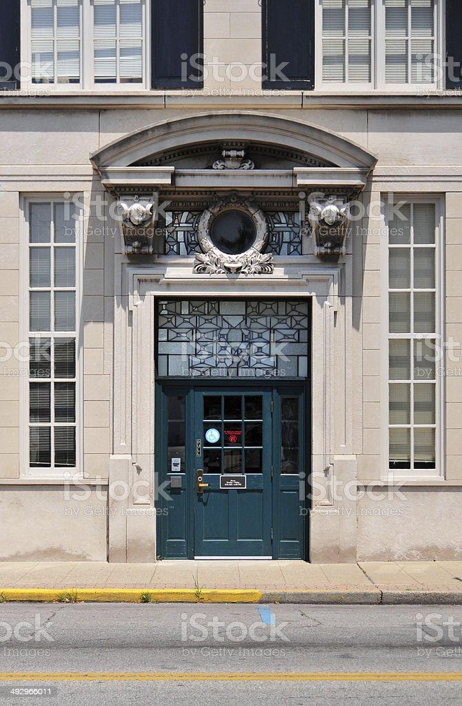 Jeffersonville, IN: door stock photo