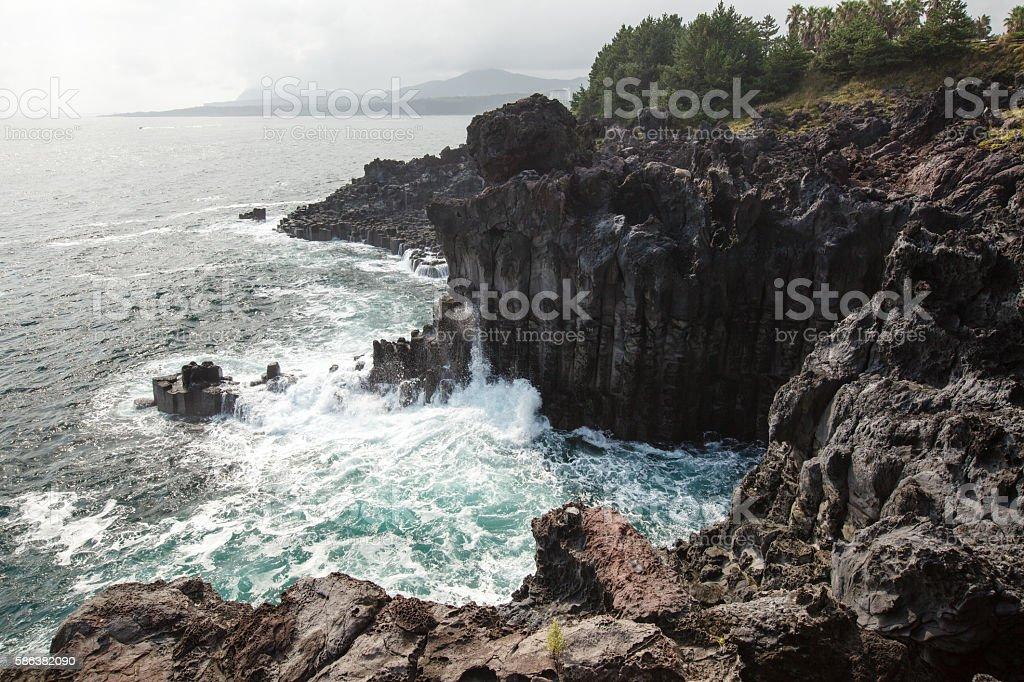 Jeju Island stock photo