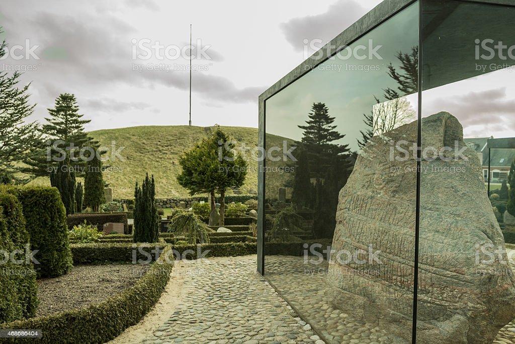 Jelling stones UNESCO stock photo