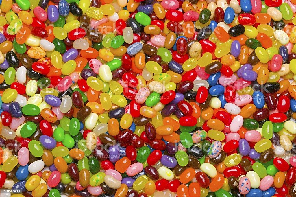 Jelly bean Hintergrund Lizenzfreies stock-foto