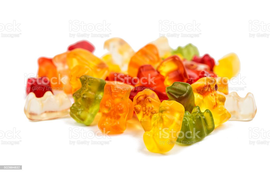 jelly bears stock photo