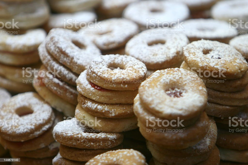 Jelly Cookies royalty-free stock photo