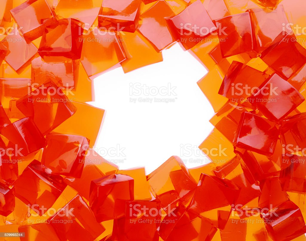 Jelly Cubes stock photo