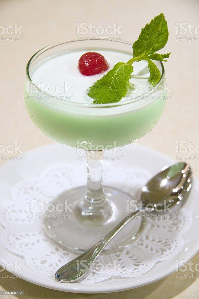 Jelly dessert royalty-free stock photo