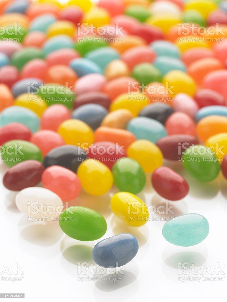 jellybeans 3 stock photo